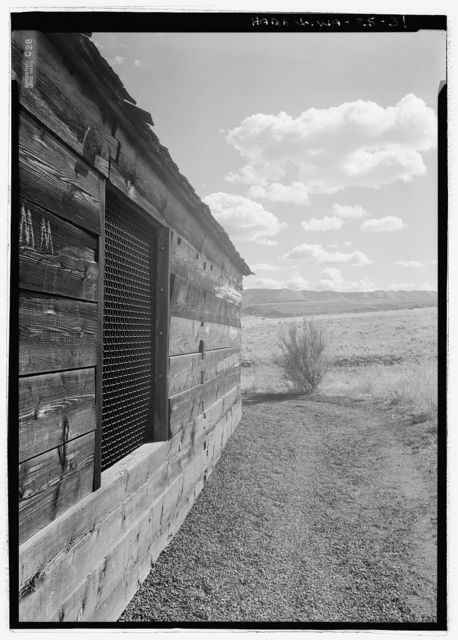 Fort Simcoe, Commandant's House & Blockhouse, Fort Simcoe Road, White Swan, Yakima County, WA