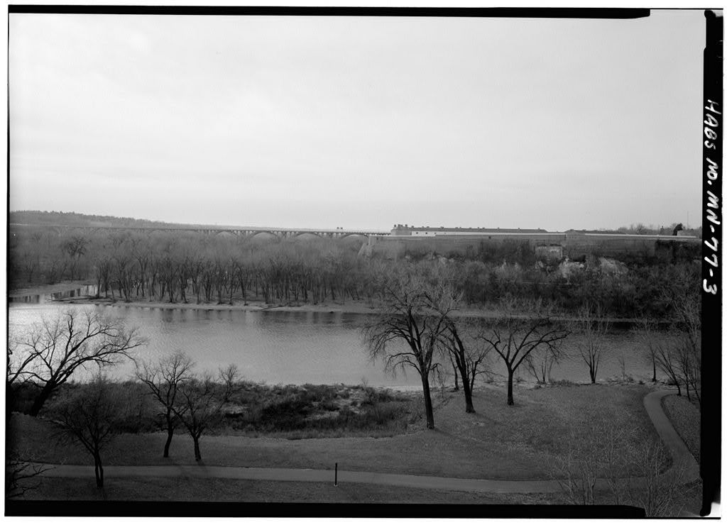 Fort Snelling, Old Fort Area, Bounded by Mississippi River, Airport, Minnehaha Park, Minneapolis, Hennepin County, MN