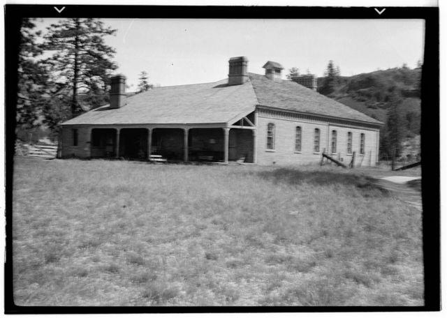 Fort Spokane, Jail, Lincoln, Lincoln County, WA