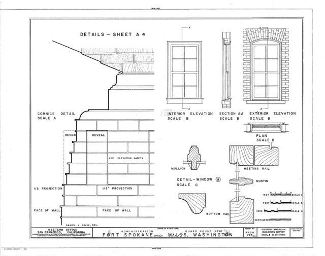 Fort Spokane, New Guardhouse, Lincoln, Lincoln County, WA