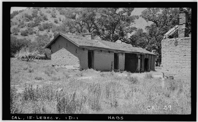 Fort Tejon, Soldiers' Quarters, Highway 99, Lebec, Kern County, CA