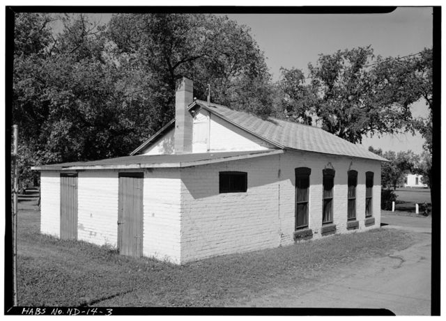Fort Totten, Bakery Shop, 12 miles southwest of Devils Lake City off Route 57, Devils Lake, Ramsey County, ND