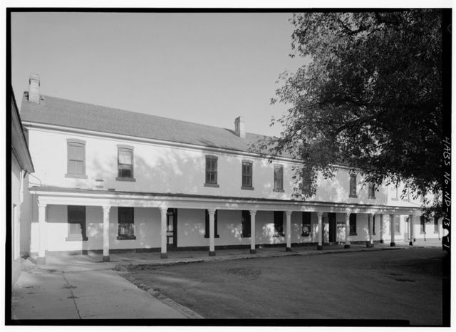 Fort Totten, Company Barracks, Building No. 11, 12 miles southwest of Devils Lake City off Route 57, Devils Lake, Ramsey County, ND
