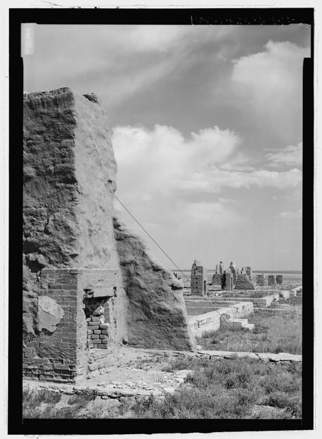 Fort Union, Commanding Officer's Quarters, State Highway No. 161, Watrous, Mora County, NM