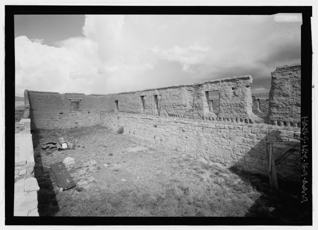 Fort Union, Commissary Storehouse, State Highway No. 161, Watrous, Mora County, NM