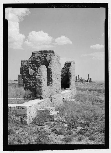 Fort Union, Officers' Quarters, State Highway No. 161, Watrous, Mora County, NM