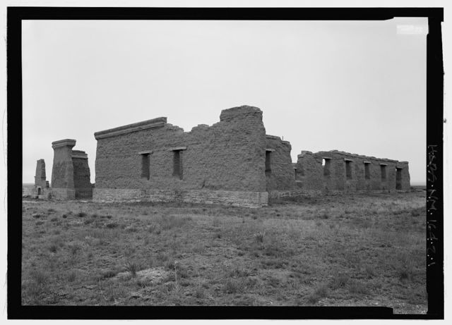 Fort Union, Quartermaster Storehouse, State Highway No. 161, Watrous, Mora County, NM