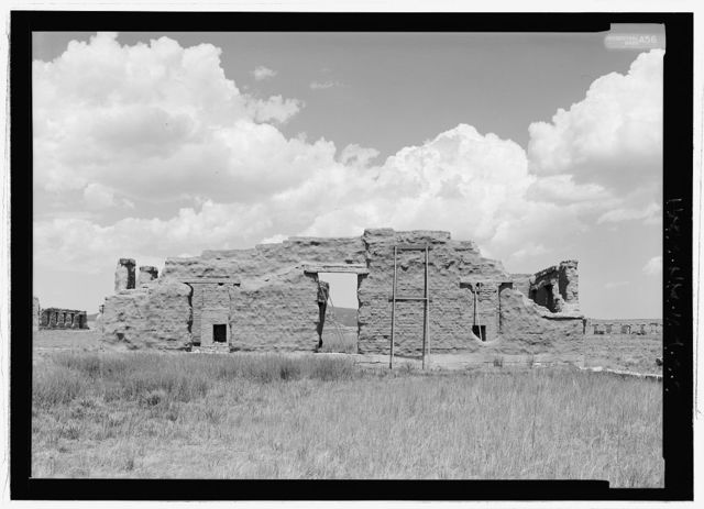 Fort Union, Quartermaster's Office, State Highway No. 161, Watrous, Mora County, NM