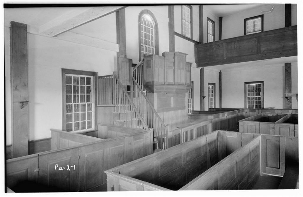 Forty Fort Meetinghouse, River Street, Forty Fort, Luzerne County, PA
