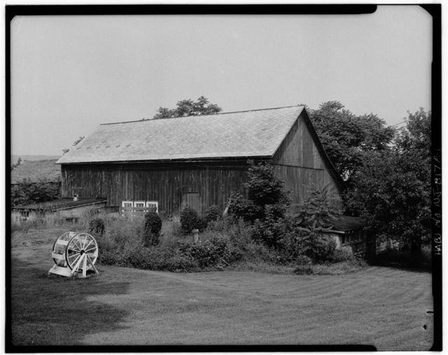 Foster-Armstrong Farm, Barn, Old Mine Road, Montague, Sussex County, NJ