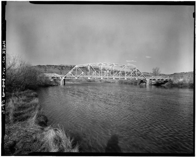 Four Mile Bridge, Spanning Big Horn River on County Road No. 173, Thermopolis, Hot Springs County, WY