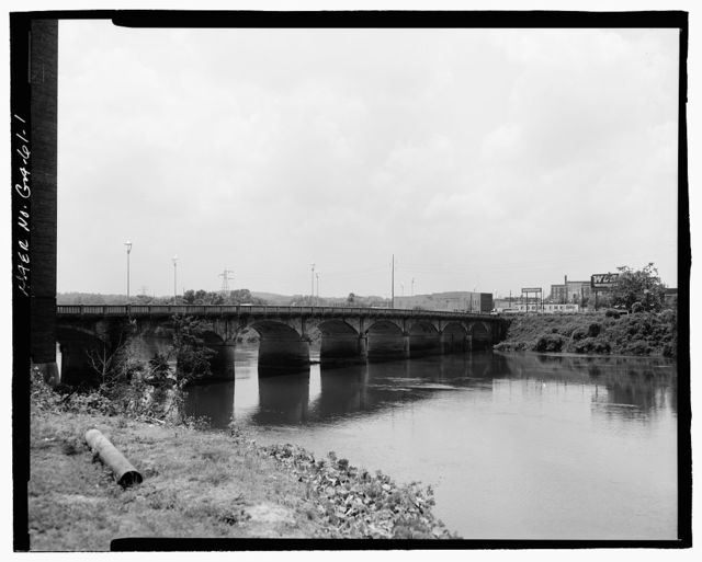 Fourteenth Street Bridge, Spanning Chattahoochee River, Columbus, Muscogee County, GA