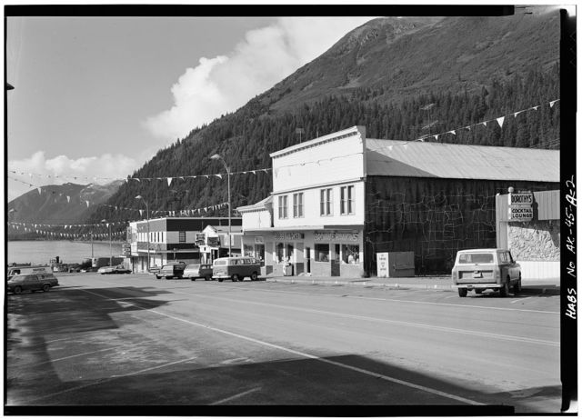Fourth Avenue (Commercial Buildings), Seward, Kenai Peninsula Borough, AK