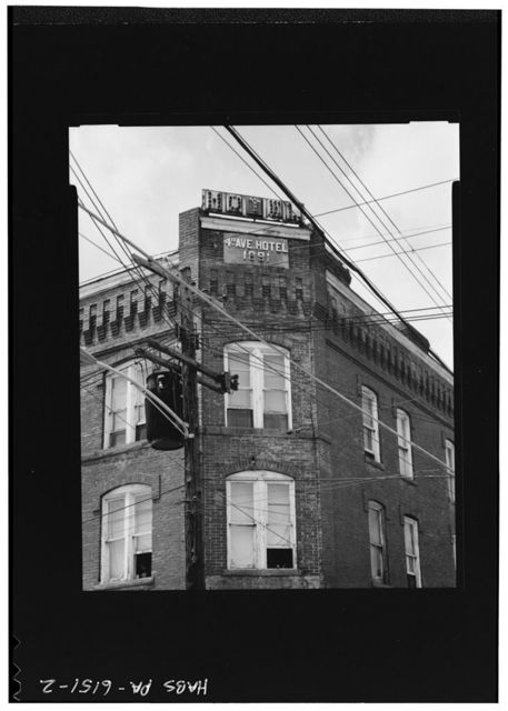 Fourth Avenue Hotel, Fourth Avenue, Jeannette, Westmoreland County, PA