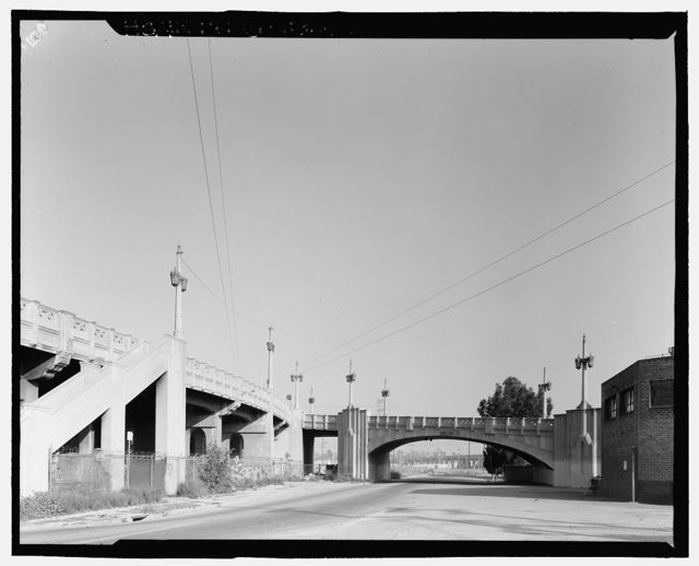 Fourth Street Viaduct, Spanning Los Angeles River, Los Angeles, Los Angeles County, CA