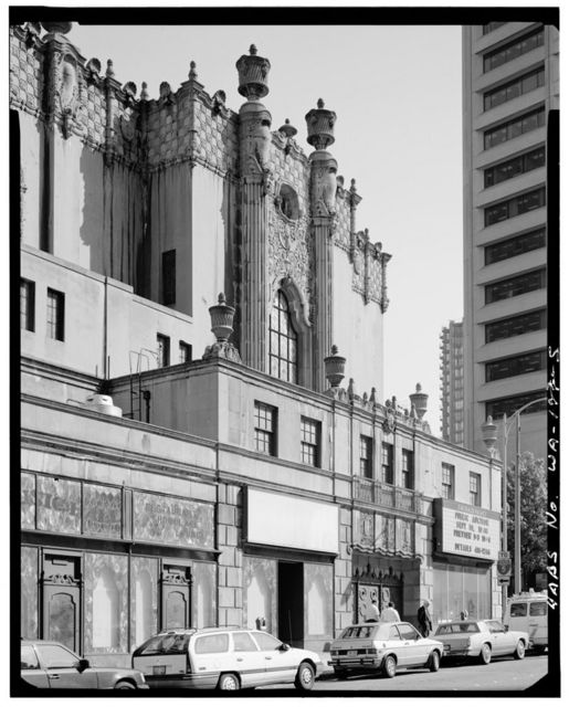 Fox Theater, Seventh Avenue & Olive Way, Seattle, King County, WA