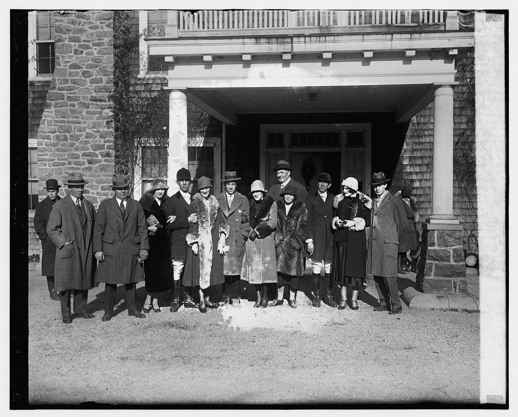 Foxhunt at Joseph Leiter estate, 1/2/26