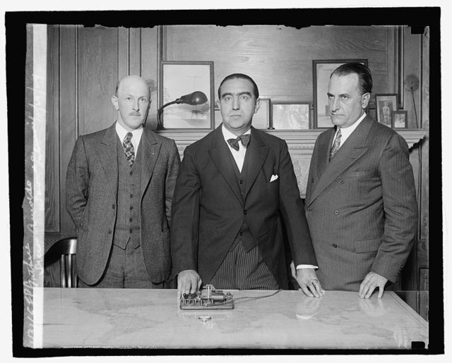 F.P. Guthrie, Senor Arnoldo, David A. Salmon, 10/21/29