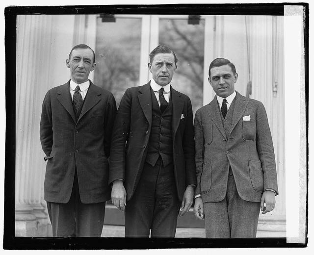 Frank A. Stetson, Russell H. Young, Raymond Clapper, 3/3/22