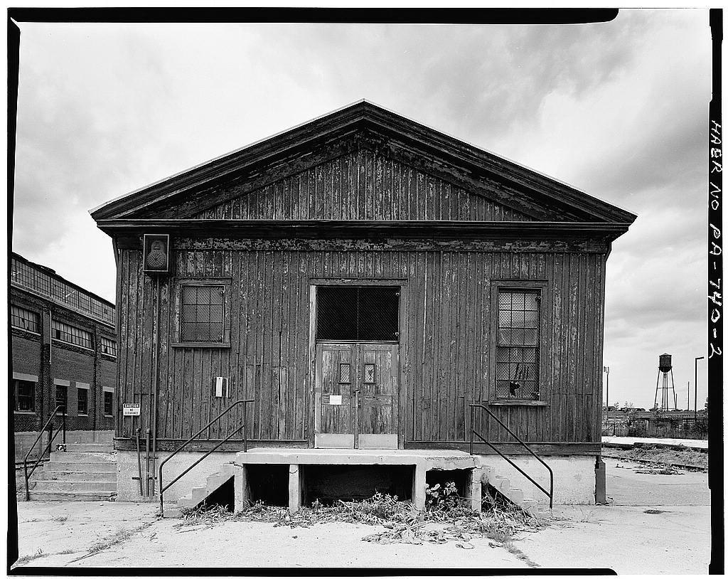 Frankford Arsenal, Building No. 252, Northwest corner of Hagner Road & Dearborn Street, Philadelphia, Philadelphia County, PA