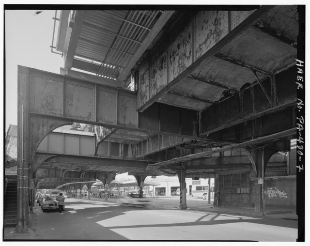 Frankford Elevated, 52100-5400 Frankford Avenue (guideway & stations), Philadelphia, Philadelphia County, PA