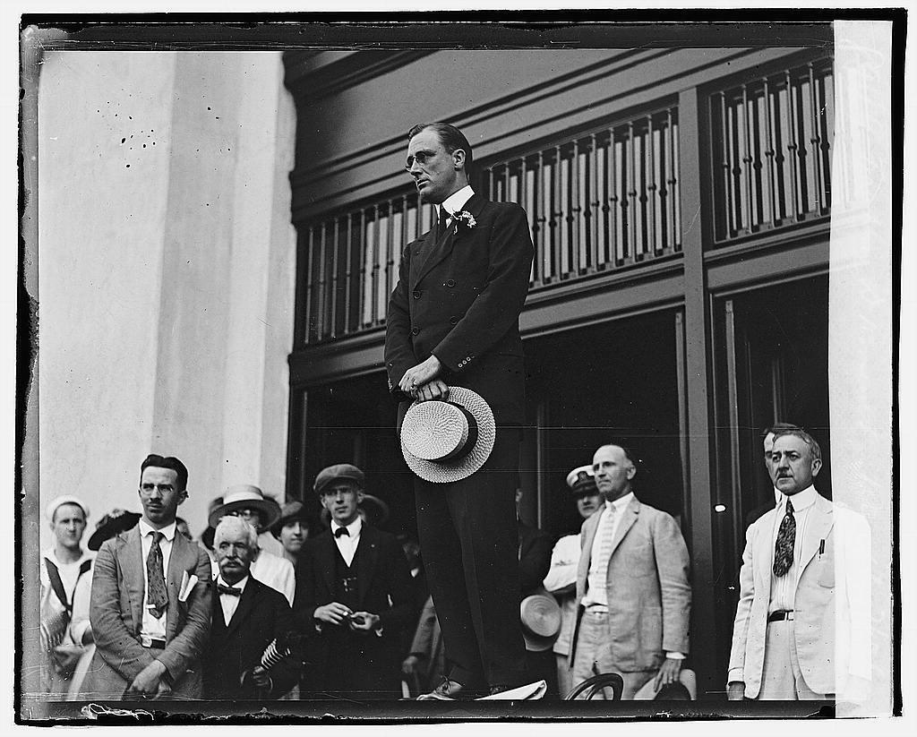 Franklin D. Roosevelt reception, 7/17/20