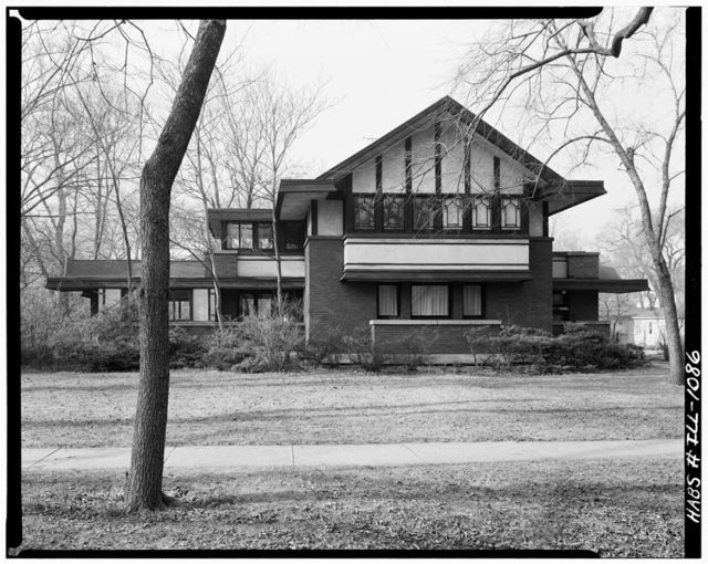 Frederick B. Carter, Jr. House, 1024 Judson Street, Evanston, Cook County, IL