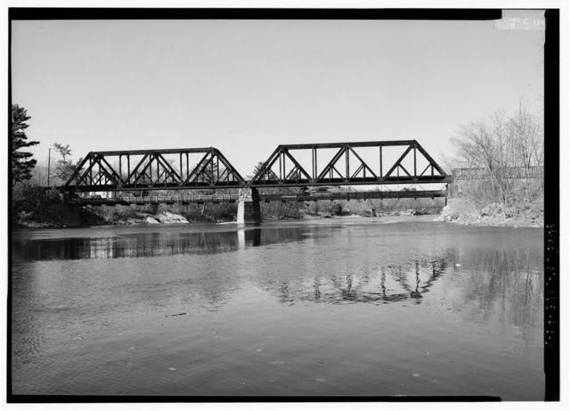 Free-Black Bridge, Spanning Androscoggin River at Route 1, Brunswick, Cumberland County, ME