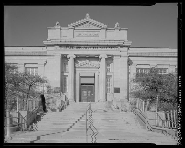 Free Library of Philadelphia, Lehigh Avenue Branch, 601 West Lehigh Avenue, Philadelphia, Philadelphia County, PA