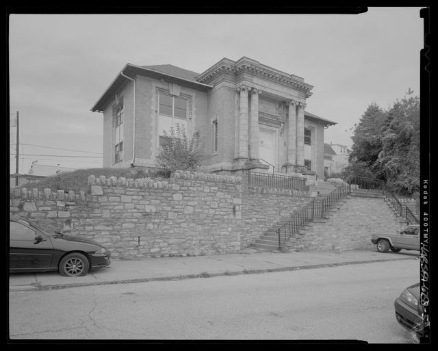 Free Library of Philadelphia, Manayunk Branch, Fleming and Dupont Streets, Philadelphia, Philadelphia County, PA