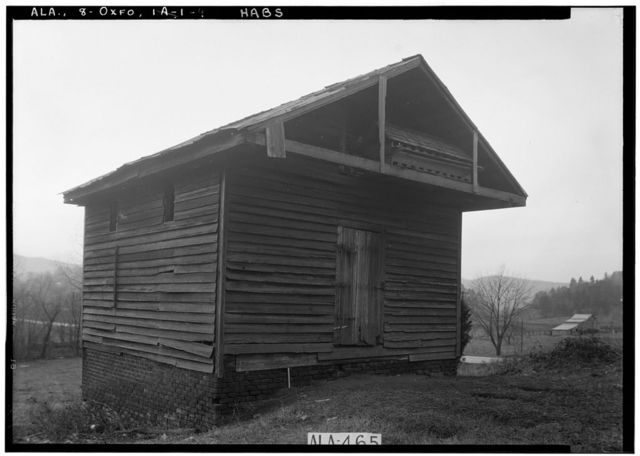 Freeman-Caver-Christian House, Upper Friendship Road, Oxford, Calhoun County, AL