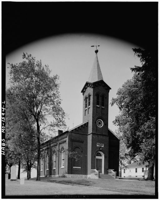 Frieden's Evangelical & Reformed Church, Saint Charles, St. Charles County, MO