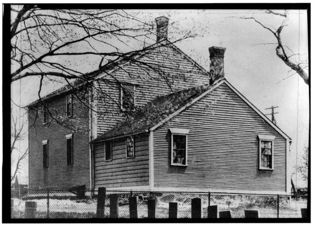 Friends Meetinghouse, Great Road, Saylesville, Providence County, RI