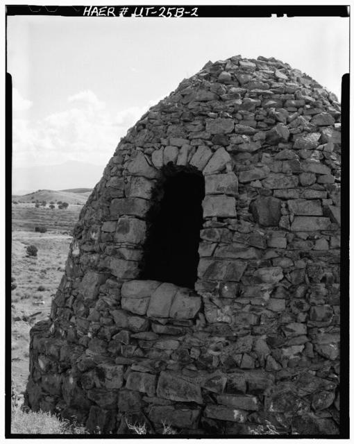 Frisco Charcoal Kilns, Kiln No. 3, State Route 21 (Frisco), Milford, Beaver County, UT