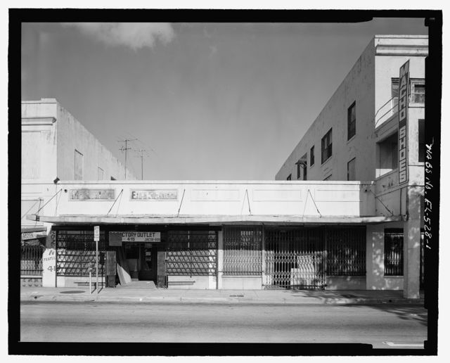 Frohock Commercial Building, 411-415 North Miami Avenue, Miami, Miami-Dade County, FL