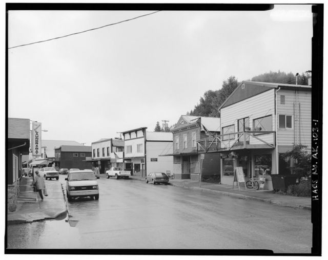Front Street (Commercial Buildings), Wrangell, Wrangell-Petersburg Census Area, AK