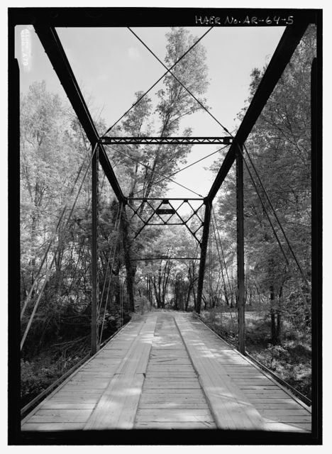 Fryer's Ford Bridge, Spanning East Fork of Point Remove Creek at Fryer Bridge Road (CR 67), Solgohachia, Conway County, AR