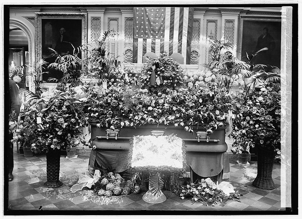 Funeral of Jas. R. Mann, 12/2/22