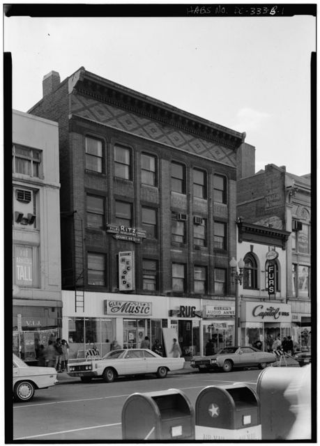 G Street, Northwest, 1200 Block (Commercial Buildings), No. 1204, Washington, District of Columbia, DC