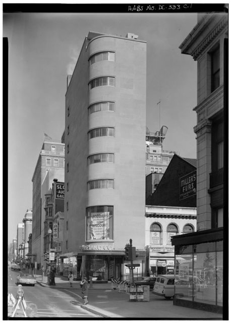 G Street, Northwest, 1200 Block (Commercial Buildings), No. 1239, Washington, District of Columbia, DC