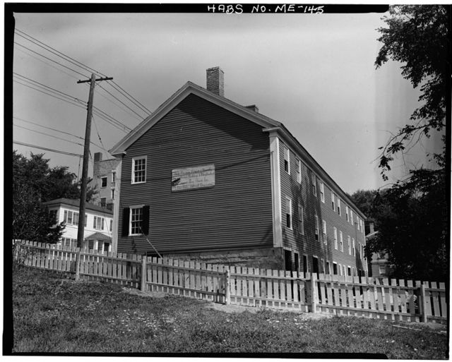 Gage Block (Row House), 106-114 Second Street, Hallowell, Kennebec County, ME