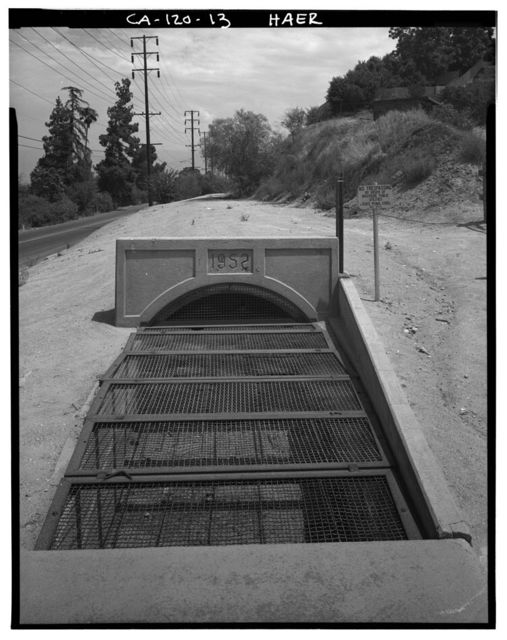 Gage Irrigation Canal, Running from Santa Ana River to Arlington Heights, Riverside, Riverside County, CA