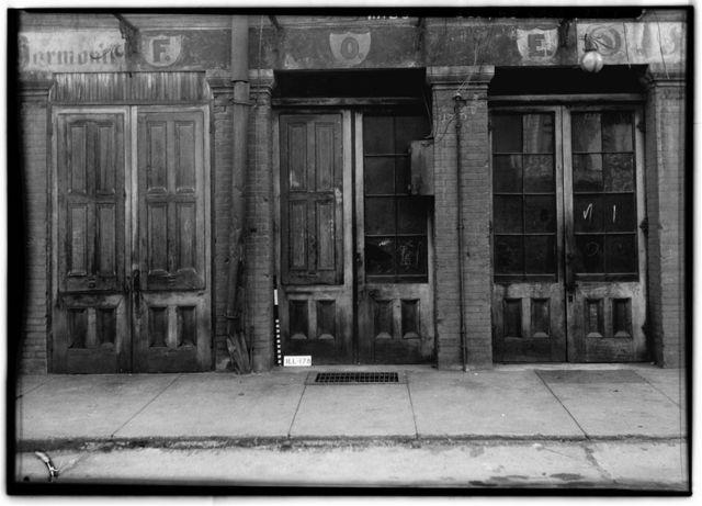 Galena Doorways, Harmony Lodge of Odd Fellows, Bench Street, Galena, Jo Daviess County, IL