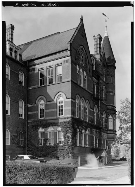 Gallaudet College, College Hall, Seventh & Florida Avenue Northeast, Washington, District of Columbia, DC
