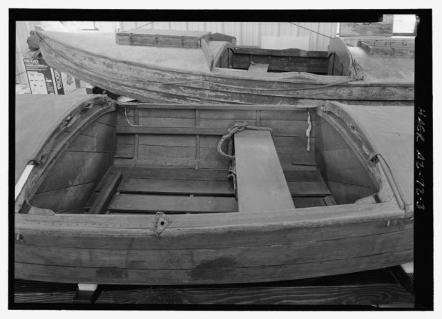 Galloway Type Boat Cataract Boat STONE BOAT, Grand Canyon, Coconino County, AZ
