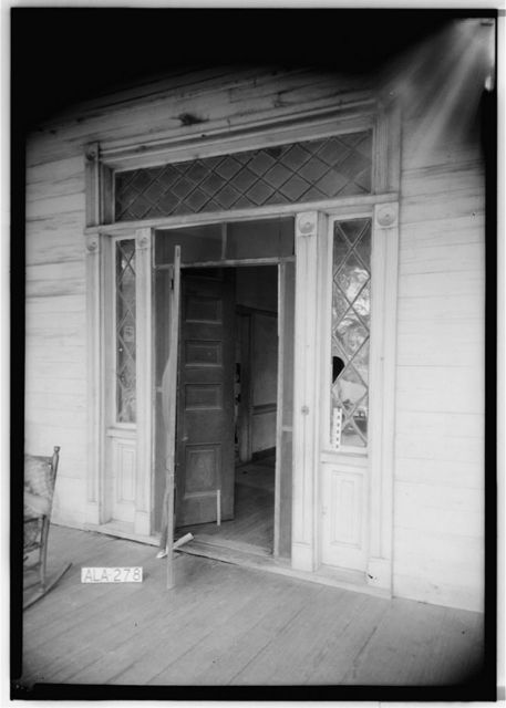 Gayle-Locke House, University Avenue (College Street), Greensboro, Hale County, AL