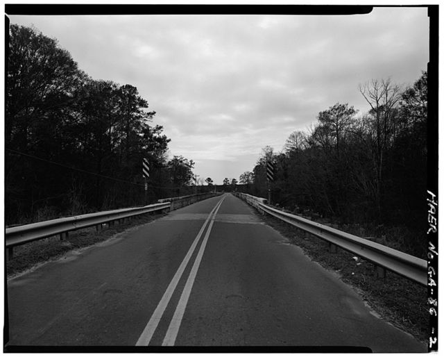 GDOT Bridge No. 027-00268X-00678N, County Road 268-Empress Road span Piscola Creek, Quitman, Brooks County, GA