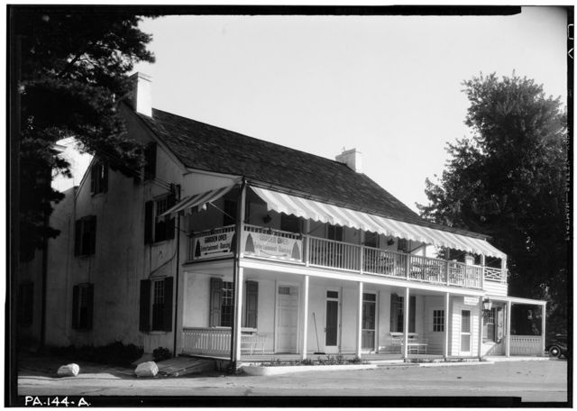 General Anthony Wayne Inn, 625 Montgomery Avenue, Narberth, Montgomery County, PA