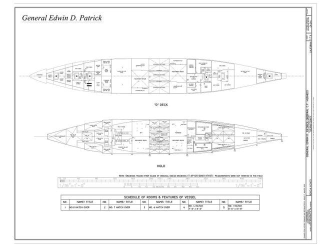 General Edwin D. Patrick, Suisun Bay Reserve Fleet, Benicia, Solano County, CA