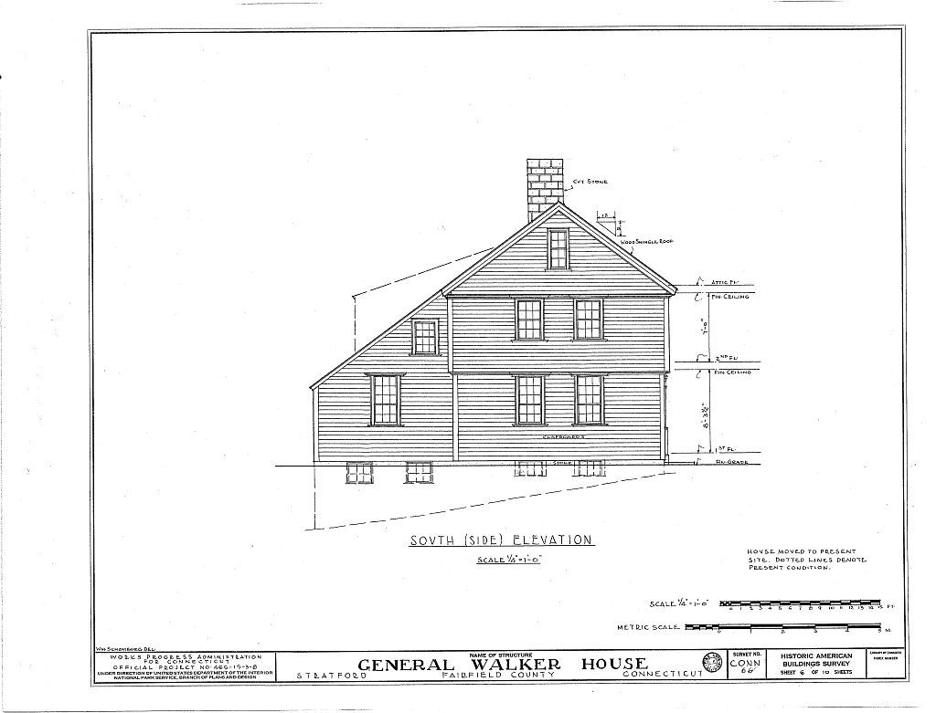 General Joseph Walker House, 2175 Elm Street, Stratford, Fairfield County, CT